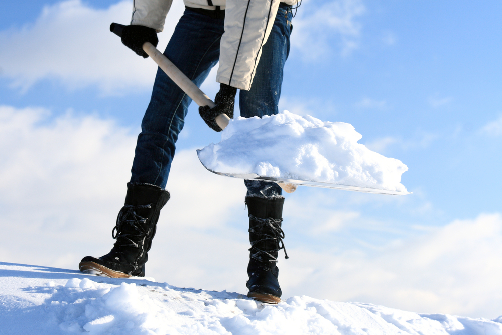 Is Shoveling Snow Hurting Your Back